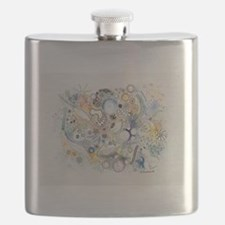 Cute Marine biology Flask
