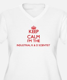 Keep calm I'm the Industrial R & Plus Size T-Shirt