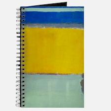 ROTHKO BLUE YELLOW Journal