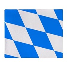 Bavarian flag Throw Blanket