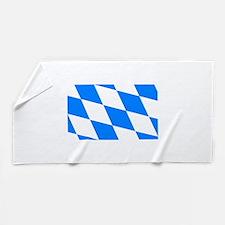 Bavarian flag Beach Towel