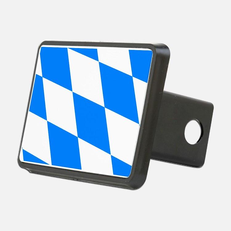 Bavarian flag Hitch Cover