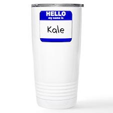Cute Kale Thermos Mug