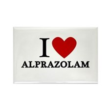 I Love Alprazolam Rectangle Magnet