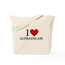 I Love Alprazolam Tote Bag
