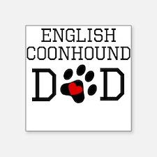 English Coonhound Dad Sticker