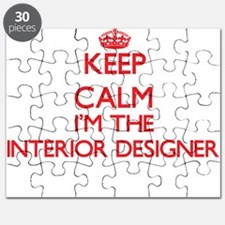 Keep calm I'm the Interior Designer Puzzle