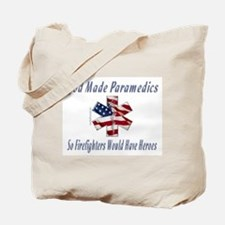 God Made Paramedics Tote Bag