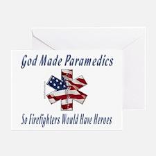 God Made Paramedics Greeting Cards (Pk of 10)