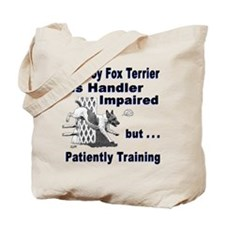 Toy Fox Terrier Agility Tote Bag