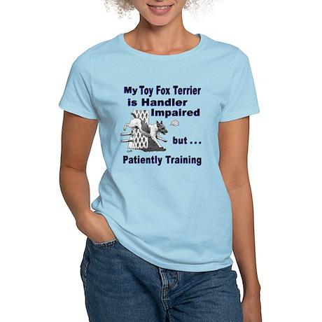 Toy Fox Terrier Agility Women's Light T-Shirt