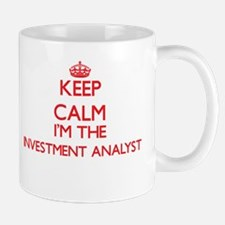 Keep calm I'm the Investment Analyst Mugs