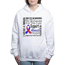 Congenital Heart Defect Women's Hooded Sweatshirt