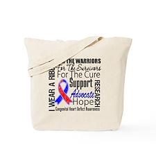 Congenital Heart Defect Tote Bag