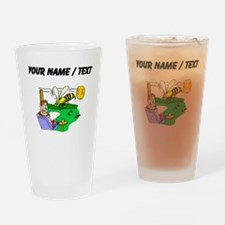 Custom Angry Bees Drinking Glass