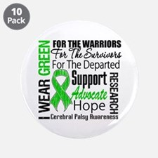 "Cerebral Palsy 3.5"" Button (10 pack)"