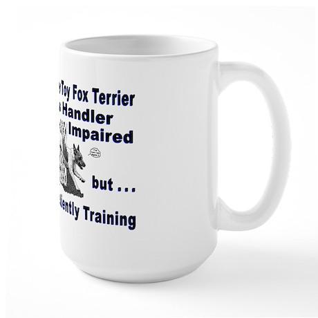 Toy Fox Terrier Agility Large Mug
