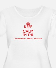 Keep calm I'm the Occupational T Plus Size T-Shirt