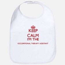 Keep calm I'm the Occupational Therapy Assista Bib