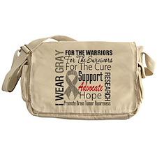 Brain Tumor Messenger Bag