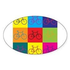 Cute Bicycle riding Decal