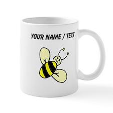 Custom Bee Drawing Mugs