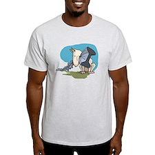Bull Terrier Chewing Steel T-Shirt