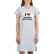 mashed potatoes Women's Nightshirt