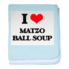 matzo ball soup baby blanket