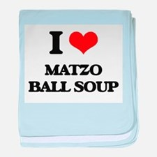 matzo ball soup baby blanket