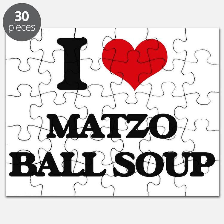 matzo ball soup Puzzle