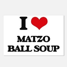 matzo ball soup Postcards (Package of 8)