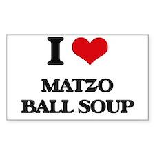 matzo ball soup Decal