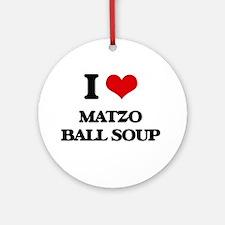 matzo ball soup Ornament (Round)