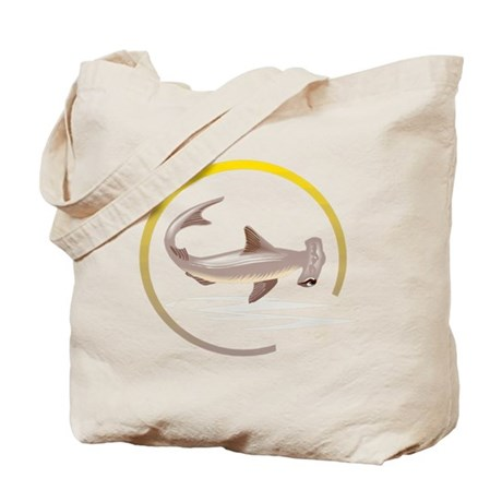 Hammerhead Shark Graphic Tote Bag