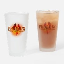 Cute Phoenix Drinking Glass