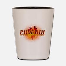 Unique Phoenix Shot Glass