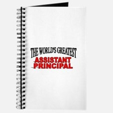 """""""The World's Greatest Assistant Principal"""" Journal"""