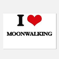 moonwalking Postcards (Package of 8)