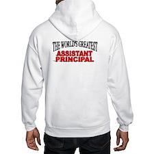 """The World's Greatest Assistant Principal"" Hoodie Sweatshirt"