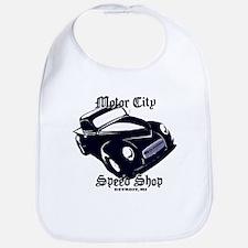 Custom Hot Rod Pickup Baby Bib