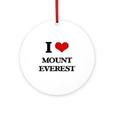 mount everest Ornament (Round)