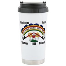 Funny Native american Travel Mug