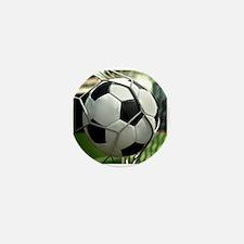 Soccer Goal Mini Button