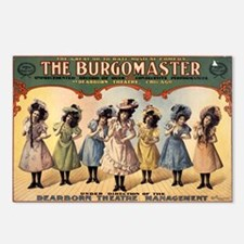 BURGOMASTER postcard (package of 8)