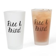 The Grind Drinking Glass