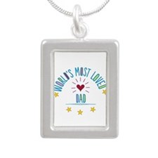 World's Most Loved Dad Necklaces