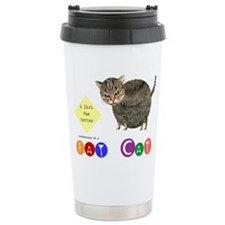 Unique Fat cats Travel Mug