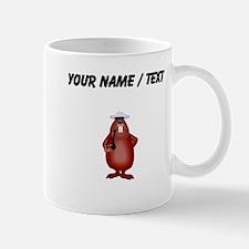 Custom Beaver Smoking Pipe Mugs