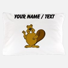 Custom Beaver Waving Pillow Case